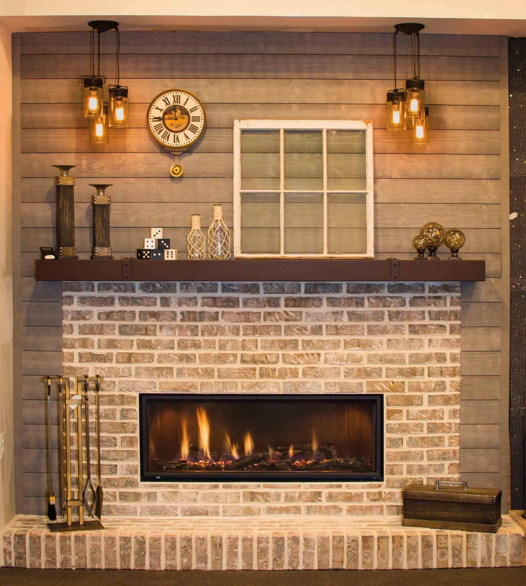 Mendota ML47 showroom fireplaces plus