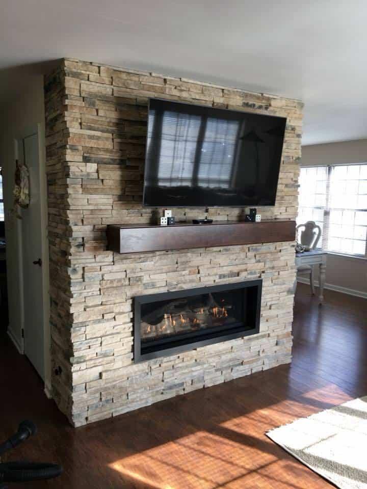 4415 HO Gas Fireplace - Keeping You Warm 1