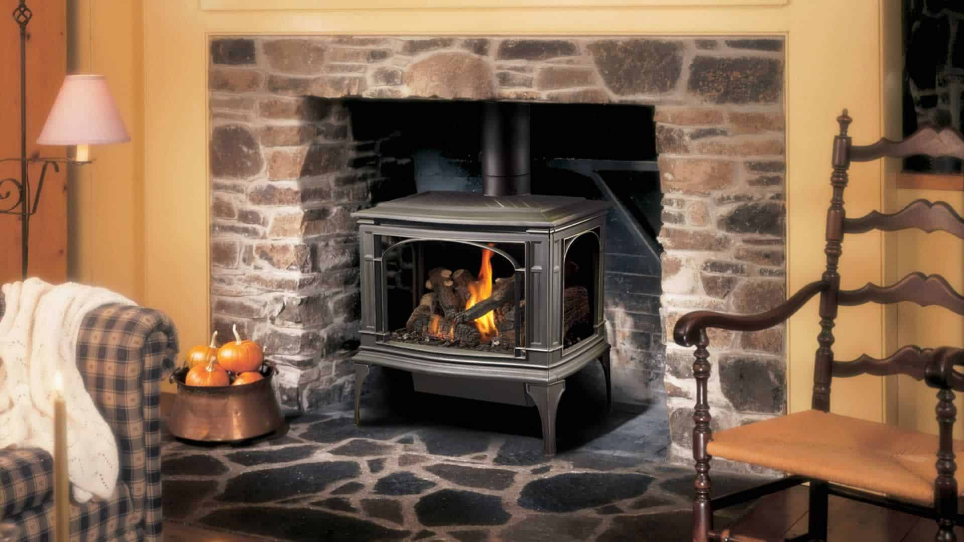 Gatherings Round the Fire - Greenfield Gas Stove 1