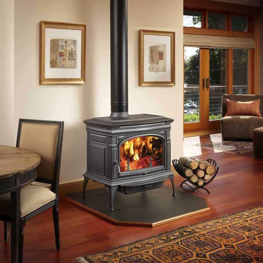 Cape Cod Hybrid-Fyre™ Wood Stove 1