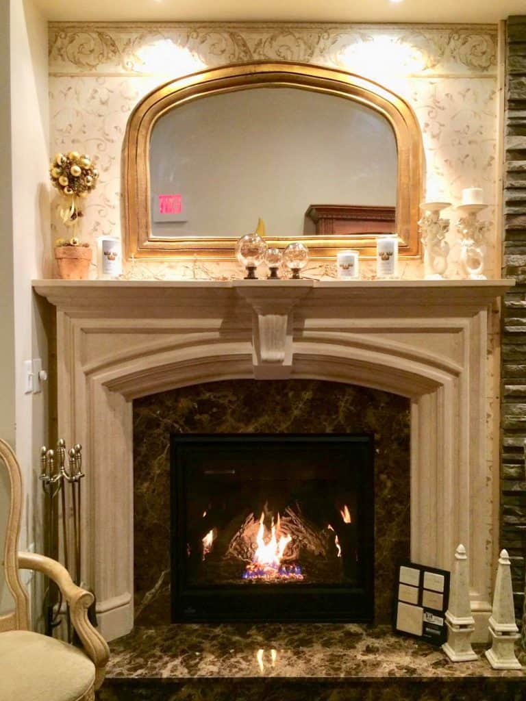 Dracme Cast Stone Fireplace Surrounds Fireplaces Plus Inc