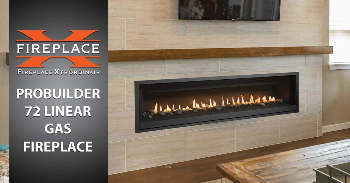 Linear Gas Fireplace >> Probuilder 72 Linear Gas Fireplace Make A Statement