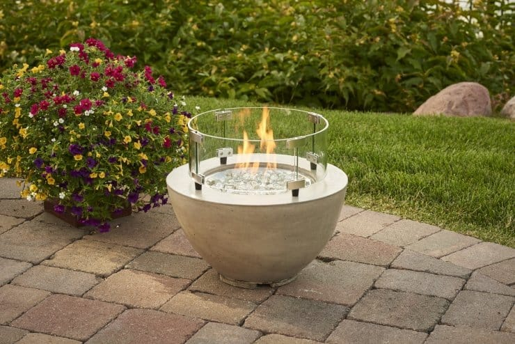 "Cove 12"" Gas Fire Pit Bowl 3"
