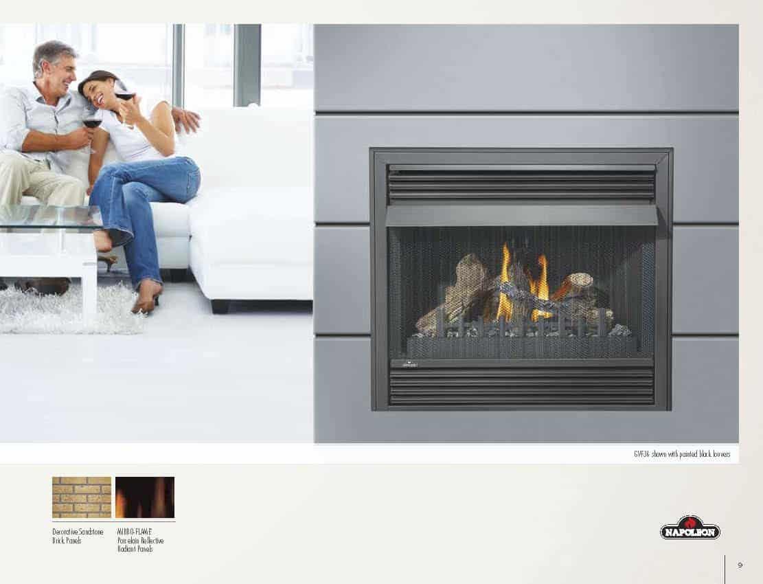 Grandville VF36 - Vent Free Gas Fireplace 2